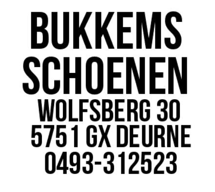 Logo BUKKEMS Schoenen en Lederwaren
